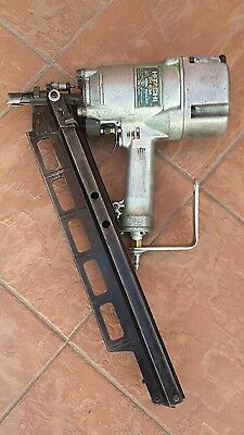 """Hitachi Model Nr83A2S 3-1/4"""" Framing Nailer Made In Japan With Adjustable Depth."""