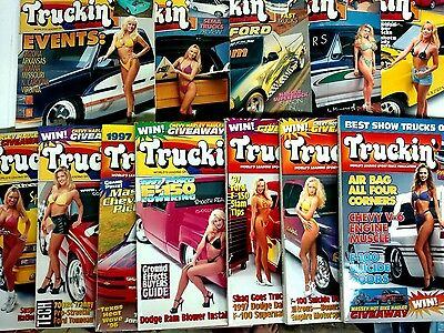 Magazine Lot of Truckin' Magazines 1996 - 12 Total Issues January - December