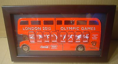 Coca-Cola 2012 Olympic Games Framed ~ London Bus Collection