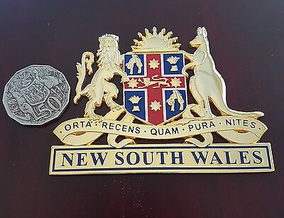 New South Wales Coat of Arms Badge