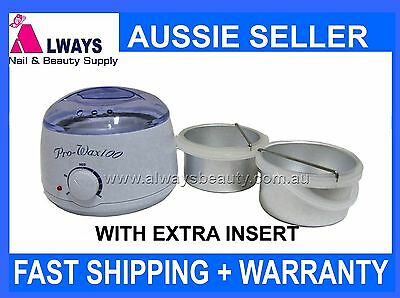 Wax Heater Hard Strip Wax Pot 500ml + Extra Insert Paraffin Warmer Aussie Seller
