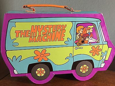 MYSTERY MACHINE Lunchbox Suitcase Jewelry Box Carry Case Scooby Doo Van Car