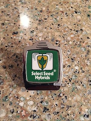 Vintage Select Seed Hybrids Agriculture Advertising Magnet Clip