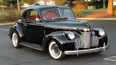 1940 Chevrolet Special Deluxe 5 window 1940 Chevrolet Coupe Special Deluxe (Survivor)