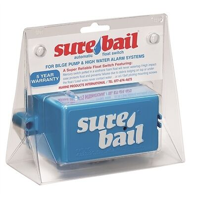 Marine Products - Sure Bail Automatic Float Switch 900-2000
