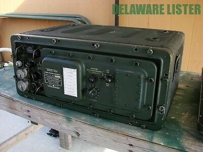 US Military WWII WW2 Army Radio RCA RDR Navy Ship Receiver Signal Corps