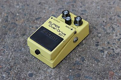 1984 Boss SD-1 Super Overdrive MIJ Japan Vintage Effects Pedal