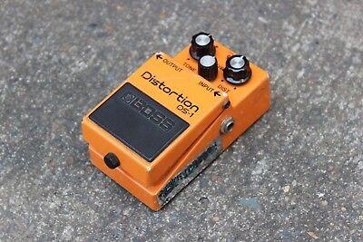 1990 Boss DS-1 Distortion MIJ Circuit Vintage Effects Pedal