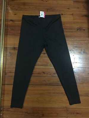 Plus Size XL Supre Tight, Black Yoga Pants Type Leggings