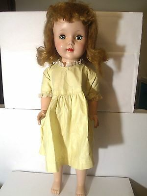 Vintage American Character Sweet Sue Doll Hard Plastic 22 in