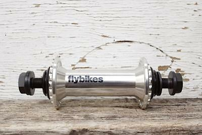 FLY BIKES FRONT HUB in POLISHED