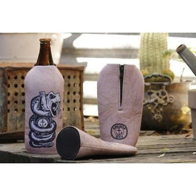 Longneck Beer Holder - The Anchor King Brown Stubby Holder - Brown Bag Look -...
