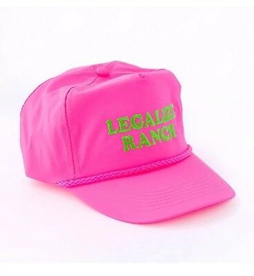 Eric Andre Show Legalize Ranch Hat Adult Swim New Never Worn