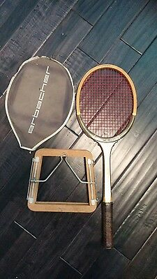 Erbacher Dunlop: Grand Prix Tournament Model Racket - First Ace: Virginia.