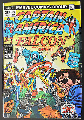 CAPTAIN AMERICA #173 (May 1974 | VOLUME 1 | MARVEL) X-Men Appearance