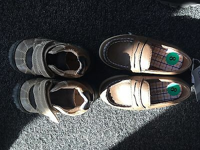 Little Boys Brand New Winter Shoes Size 7/8