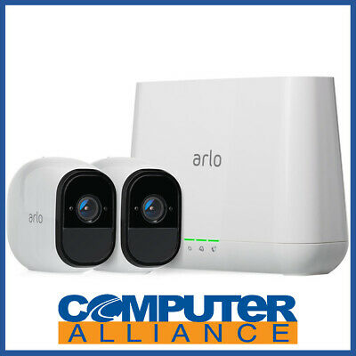 NETGEAR VMS4230-100AUS ARLO PRO Smart Home Security - 2 HD Camera Security Syste