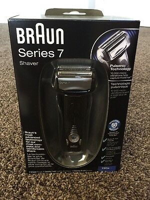 Braun Series 7 720S-4 Cord/Cordless Rechargeable  Men's Electric Shaver