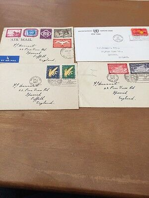 United Nations First Day Covers / Envelope- 1954 and 1964
