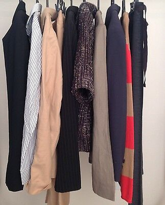 10 PC Wholesale Designer Women's Lot Sz 14 Career Jackets Lafayette 148 Tahari