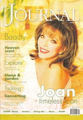 JOAN COLLINS - The Journal Magazine - British Publication dated April 2004 C#73