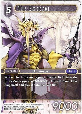 The Emperor (1-185H) - Hero Card - Final Fantasy Tcg Opus 1 English