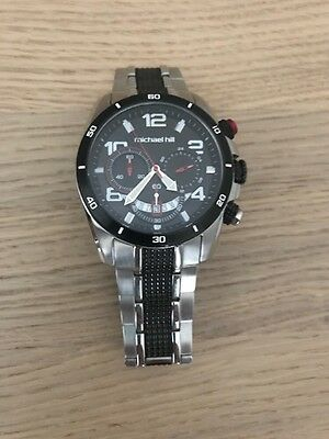 Men's Michael Hill Chronograph Watch Stainless Steel