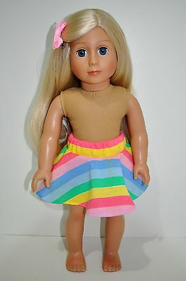 "American Girl Doll Our Generation Journey Girl 18"" Dolls Clothes Skater Skirt"
