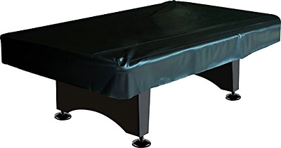 Fitted Naugahyde Cover Imperial For Billiard Pool Table 8 Foot Table In Black