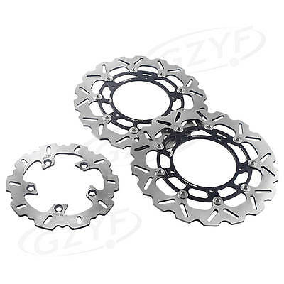 Rear Brake Disc Disk Rotor Pads For Yamaha Yzf R1 04 14 R6 03 16 15