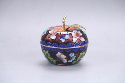 Exquisite collection Chinese Cloisonne painted Flower Pot