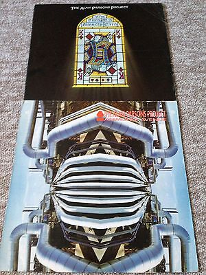 2 Lp's The Alan Parsons Project - The Turn Of A Friendly Card /Ammonia Avenue
