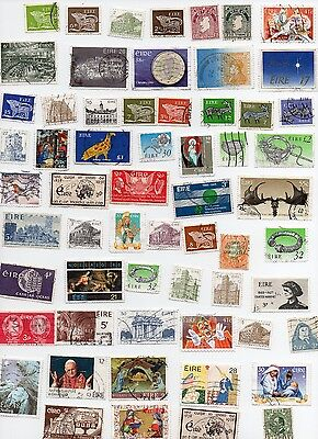 EIRE Stamps 130 All Different and Off Paper