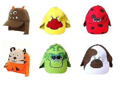 Baby Summer Legionnaire Hat Animal Design Sun Cap Boy Girl Toddler 12M -4 Years