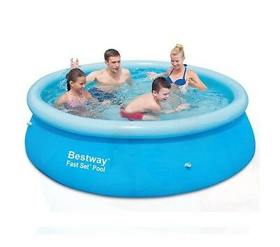 Bestway Round 8ft X 26in Inflatable Outdoor Garden Paddling Swimming Pool 2300L
