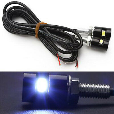 Prevalent 2pcs Car Motorcycle 12V SMD 5630 Screw Bolt Light License Plate lamp