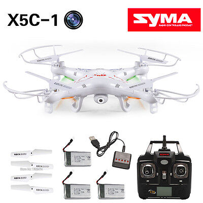 SYMA X5C-1 Explorers 2.4Ghz 4CH 6 axes 100-120M RC Quadcopter Drone Transmitter