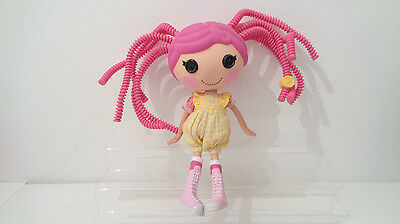 "Large Lalaloopsy 12"" Doll - Crumbs Sugar Cookie - Pink Curly Hair"
