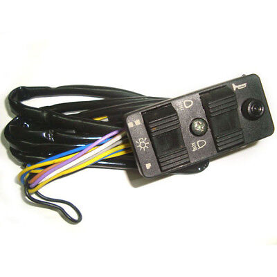 Light On/off + Horn Switch For Vespa Px Efl, Pk, T5, Classic, Many Models