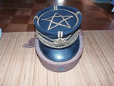 Original Imperial Japanese Army Dress Cap With Box Meiji Period -Vg