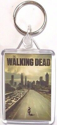 The Walking Dead Andrew Lincoln Norman Reedus movie poster Magnet Keyring New