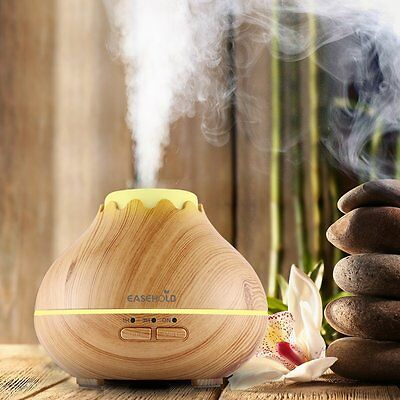 Easehold Humidifier LED Essential Oil Diffuser Aromatherapy Air Purifier 150ml