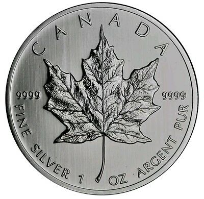 Canadian silver maple 2012 1oz coin. Freshly unboxed.