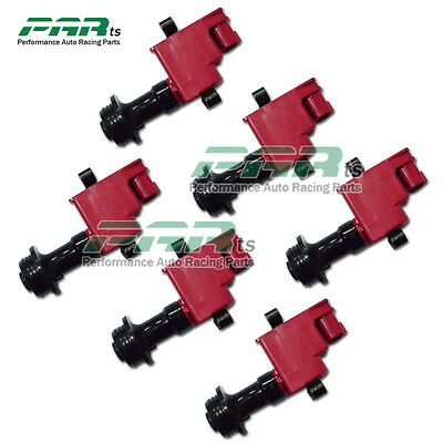 6Pcs Performance Ignition Coil Pack Fits Skyline R34 RB25DET RB25 Series2 sales