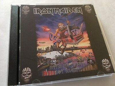 Iron Maiden Double CD London O2  England 1st Night The Book Of Souls Tour 2017