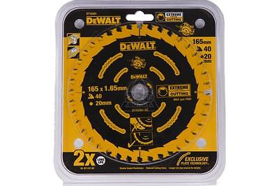 Dewalt DT10301 Circular Saw Blade 165 x 20mm x 40 Tooth Extreme Framing