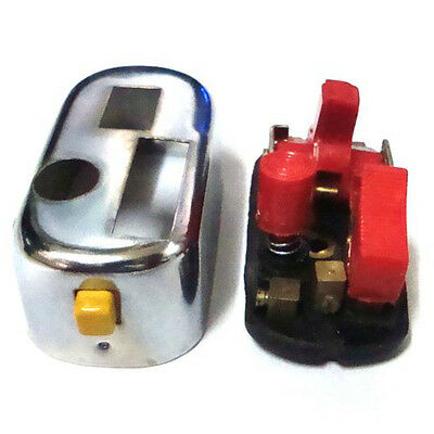 12V Headlight Horn Engine Cutout Switch Set For Vespa Scooter