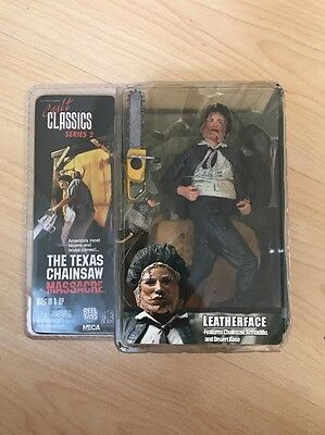 Leatherface Texas Chainsaw Massacre Cult Classics Series 2 NECA Figure New