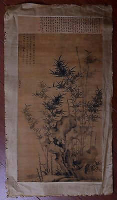 Marvelous Old Paper Chinese Landscape Hand Painting Collectible Marked PP779
