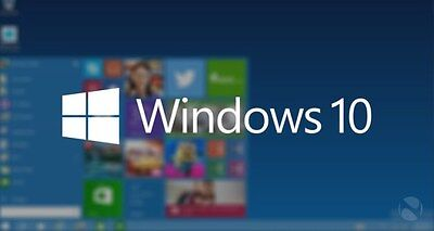 Microsoft Windows 10 Pro Professional 32/64bit Genuine License Key Product Code